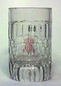 Imperial - Beer mug with logo applied with acid