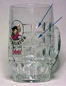 Jubilator - Beer mug with alternate dimples