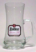 Zoller - Beer mug - curved glass