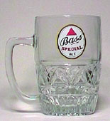 Bass - Engraved beer mug
