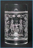 Cardinal - Engraved beer mug