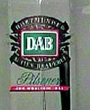 DAB Brewery Germany - Logo with streamers