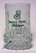Barre Bräu - Beer mug with diamond-shaped dimples