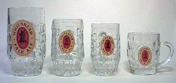 Beer mugs of the Whitbread series