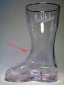Birra Wührer - Beer boot with lace