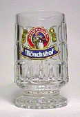 Mönchshof - Beer mug - on foot glass