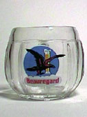 Beauregard - Beer mug - barrel-shape glass